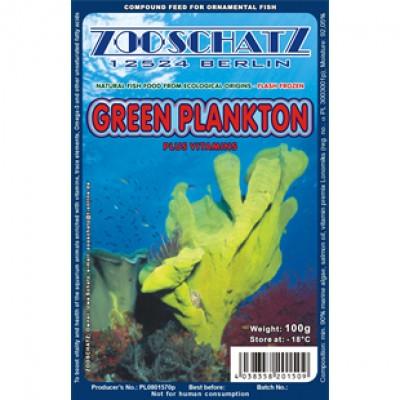 Ichthyo Trophic Зеленый планктон 100g
