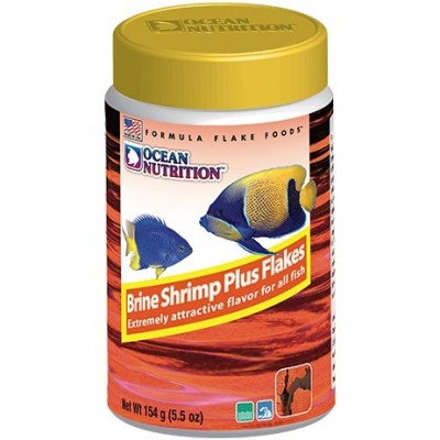 Ocean Nutrition Brine Shrimp Plus Flake 156g
