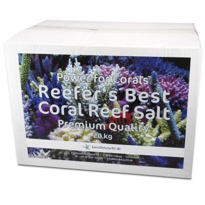 KORALLEN-ZUCHT Reefer's Best Coral Reef Salt Premium Quality 20кг