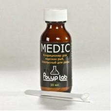 PolypLab MEDIC (Кондиционер-лекарство для морских рыб, 30 мл)