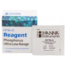 Hanna Instruments Phosphorus Ultra Low Range Reagents - 25 Tests (HI736-25)
