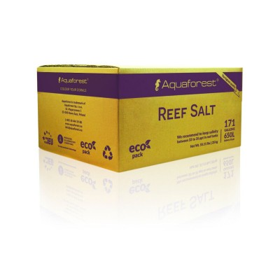 Соль рифовая Aquaforest Reef Salt 25кг картон