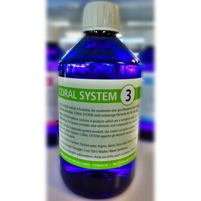 Korallen-Zucht Coral System 3-Coloring Agent 3 500мл